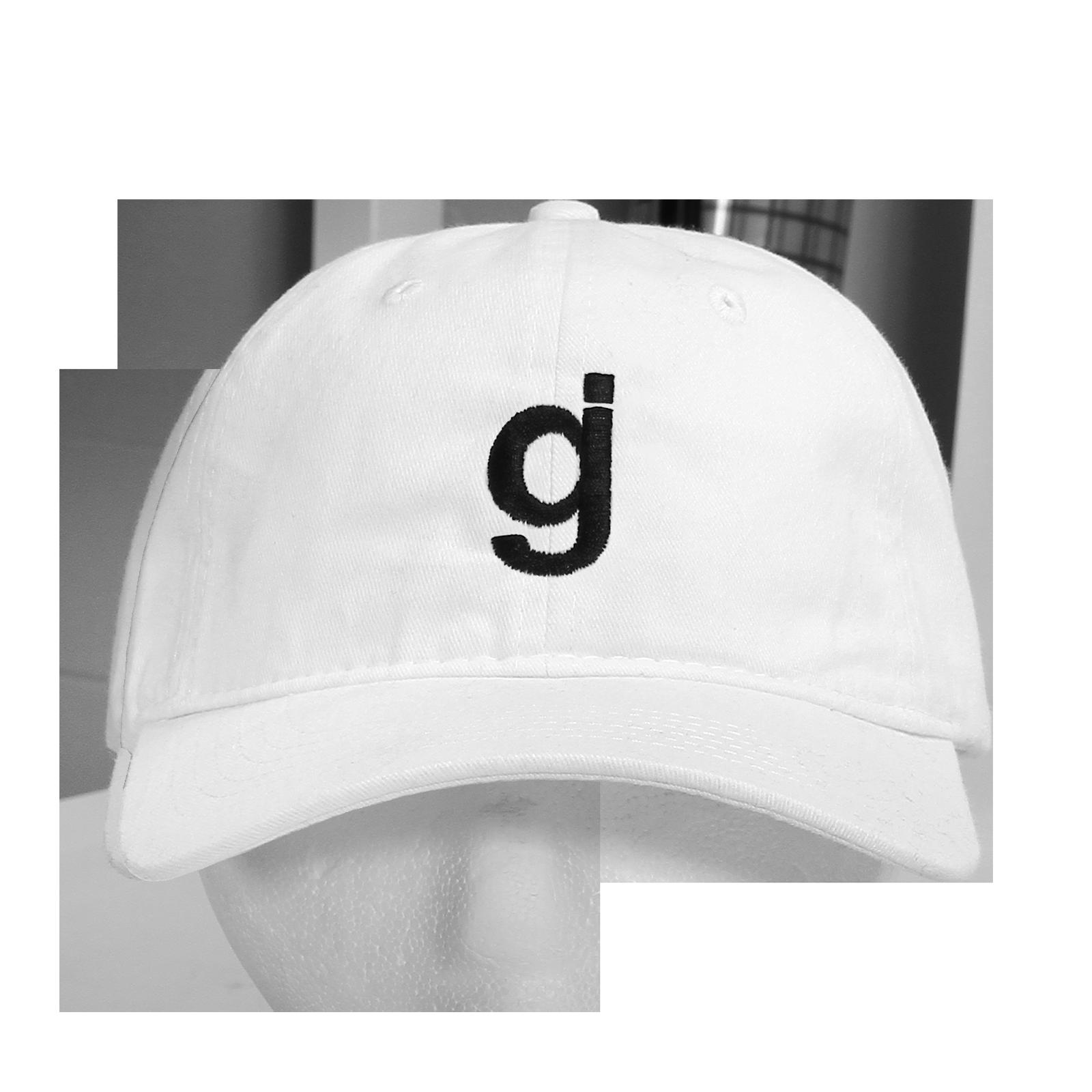 GJ White Dad Hat