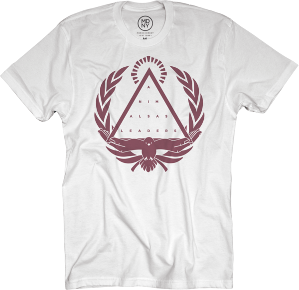 Crest on White T-Shirt