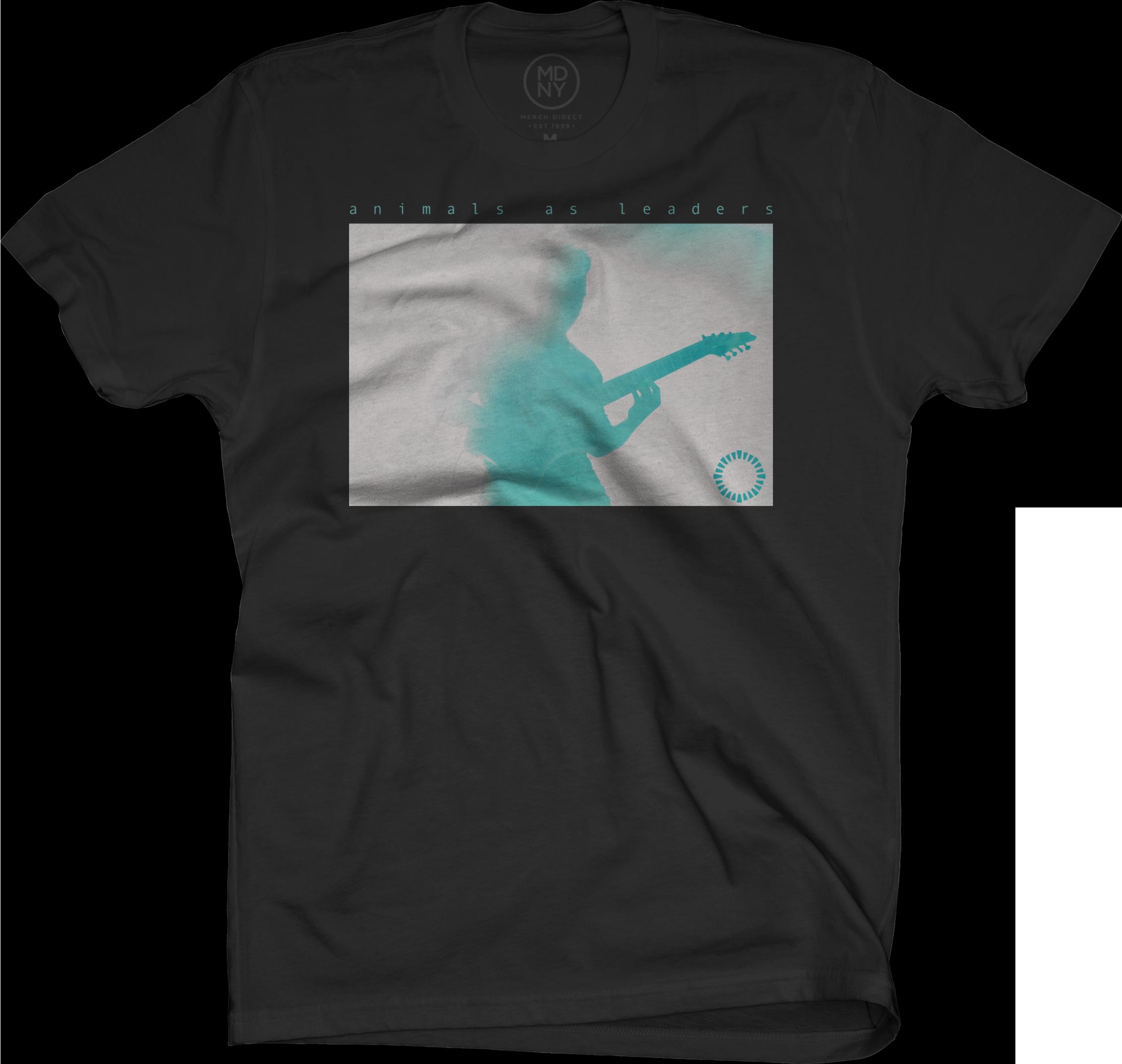 Silhouette Live Shot on Black T-Shirt
