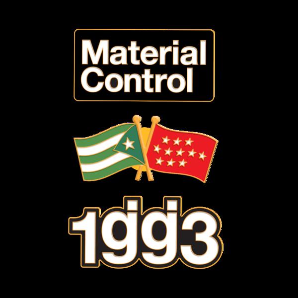 Material Control Enamel Pin Pack