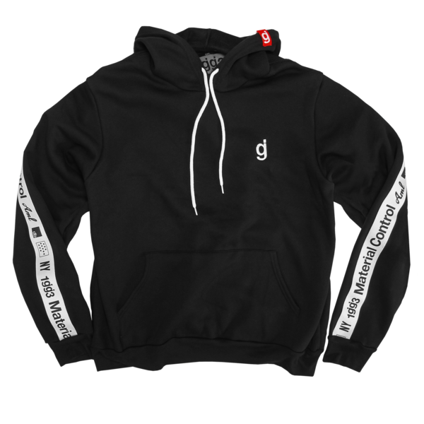 Material Control Black Pullover