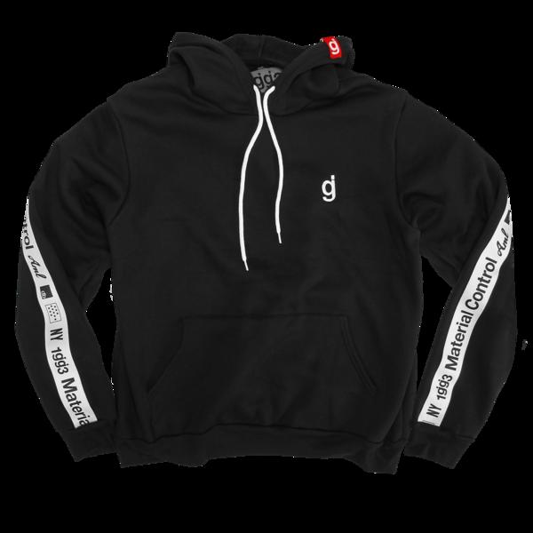 Material Control Black Pullover