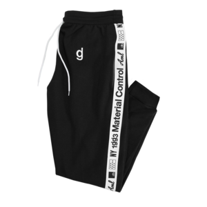 Material Control Black Sweatpants
