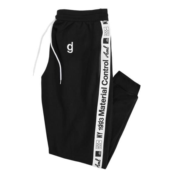 Material Control Black Sweatpants