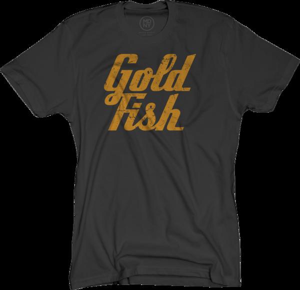 GoldFish Tee - Orange / Black