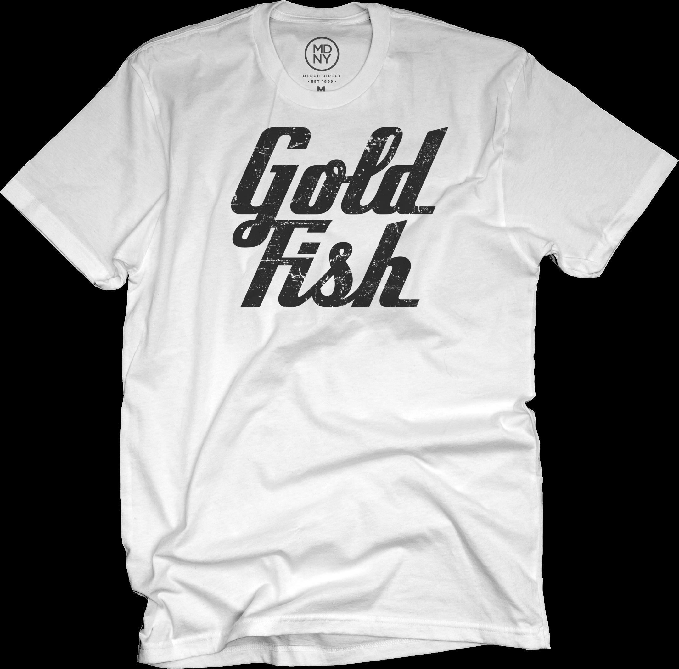 GoldFish Tee - Black / White