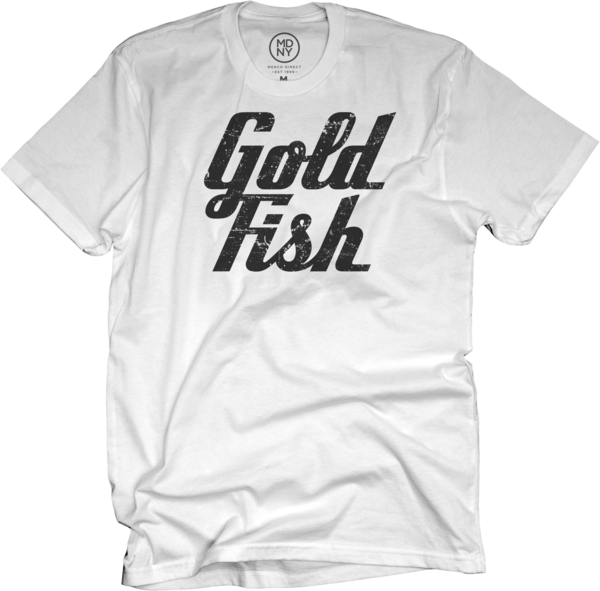 GoldFish Tee - Black / White