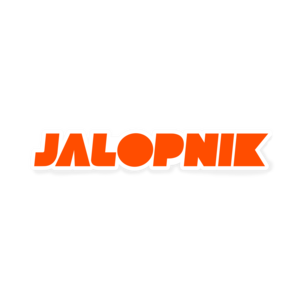 Jalopnik Orange Decal