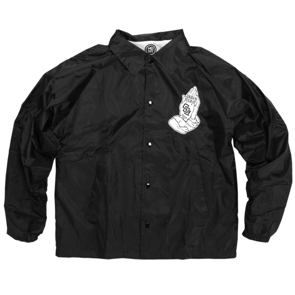 Praying Hands Coaches Jacket