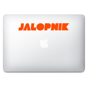 Jalopnik Orange Decal