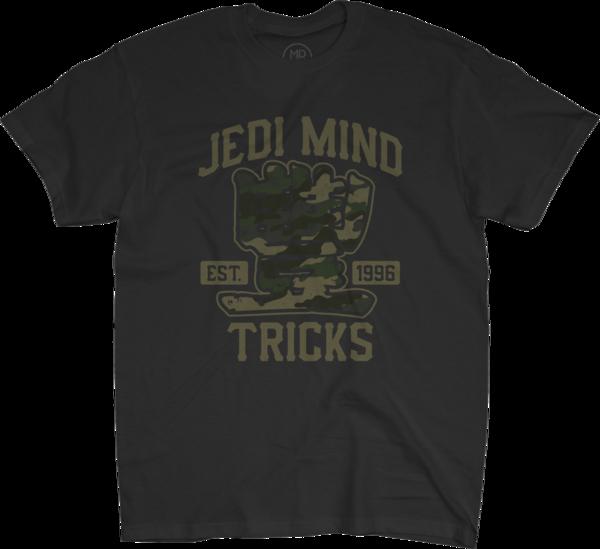 EST 1996 Camo Black T-Shirt