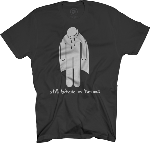 Crying Hero Black T-Shirt