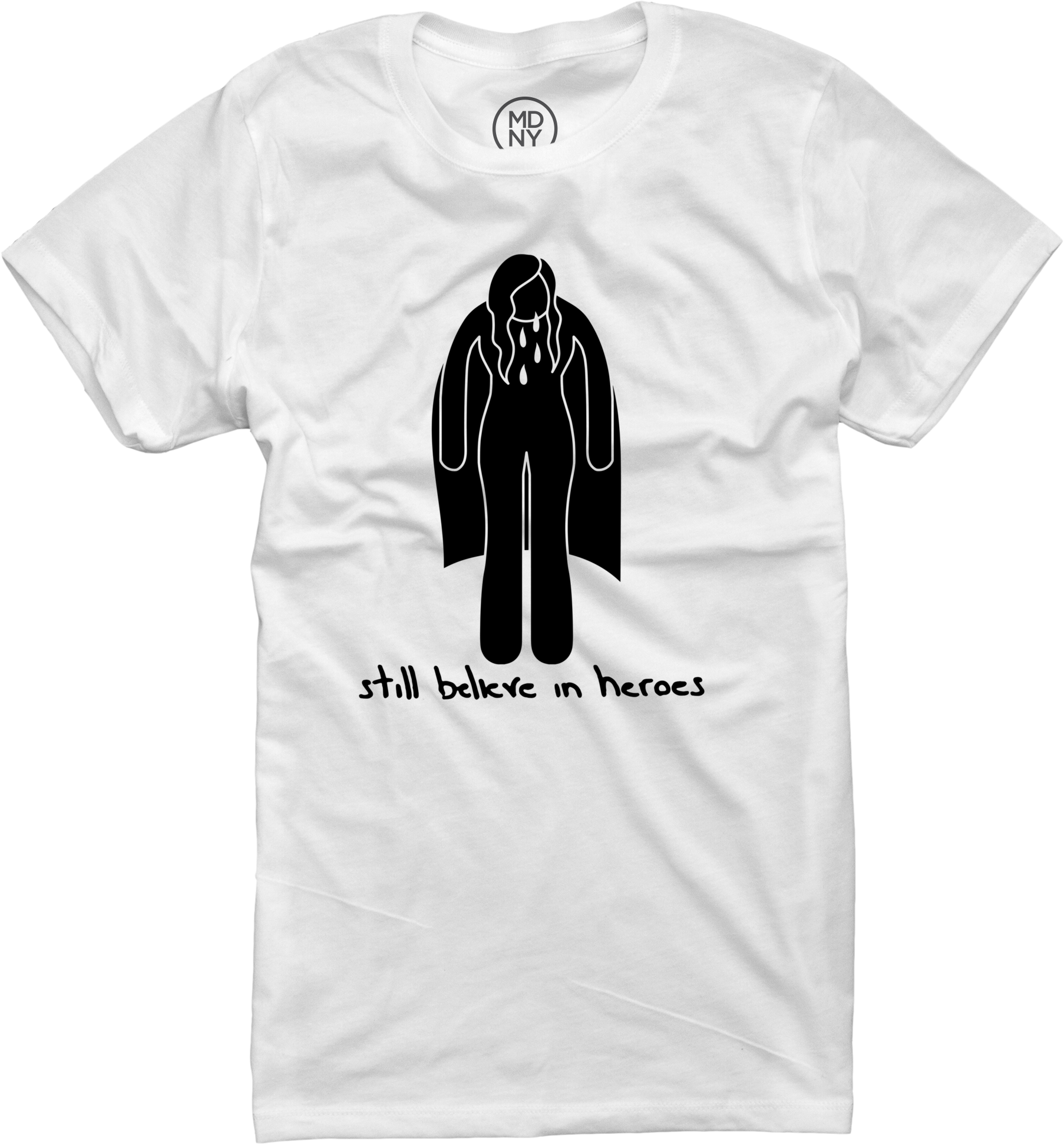 Crying Hero Women's White T-Shirt