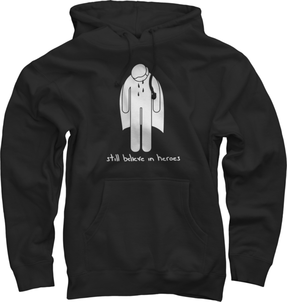 Crying Hero Black Pullover