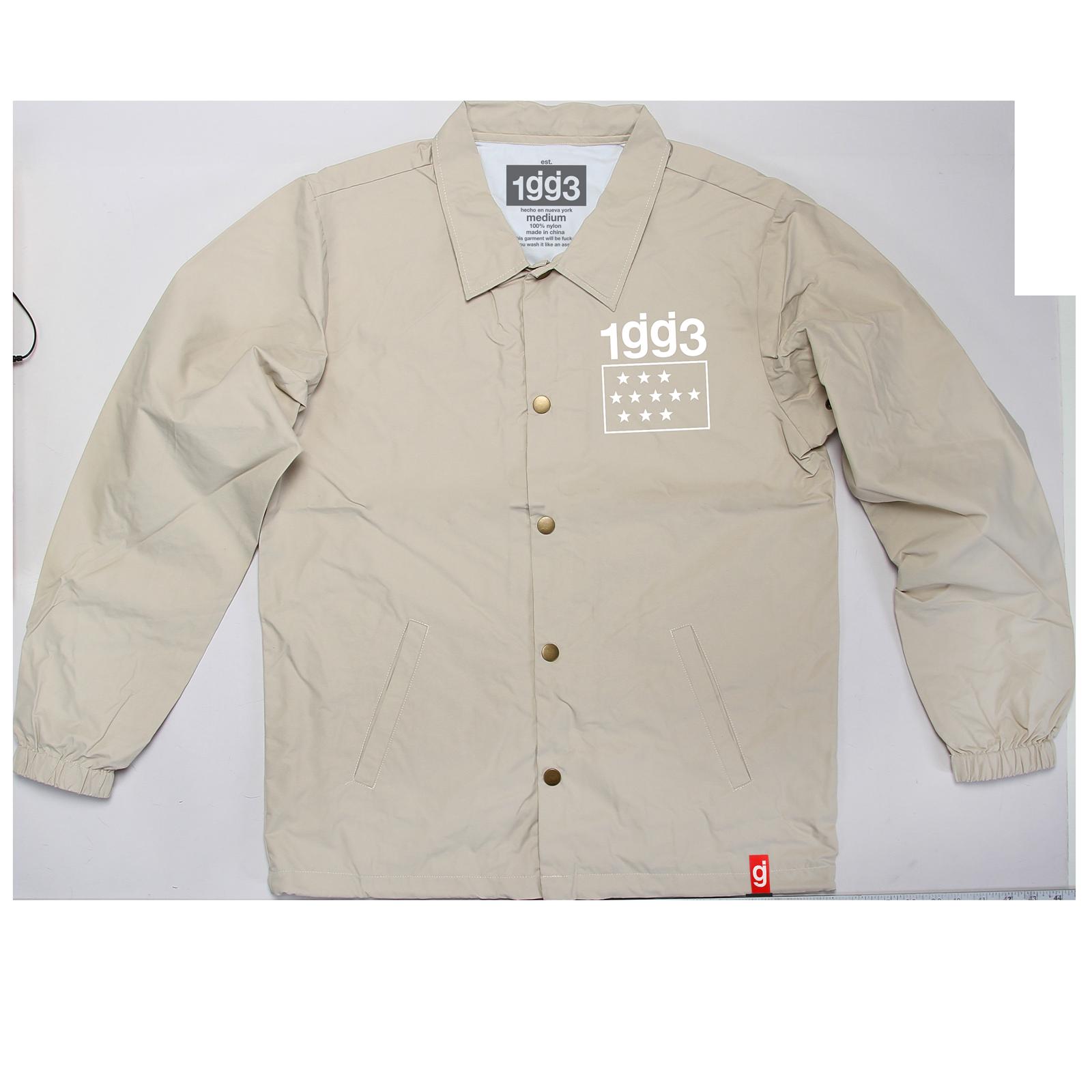 Shira Lyrics Khaki Coaches Jacket