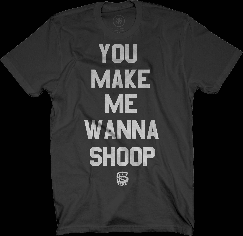 Shoop on Black T-Shirt