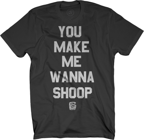 Shoop on Black T-Shirt