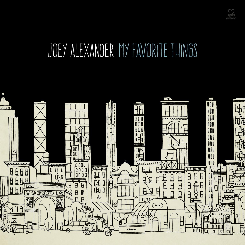 JOEY ALEXANDER - MY FAVORITE THINGS - CD
