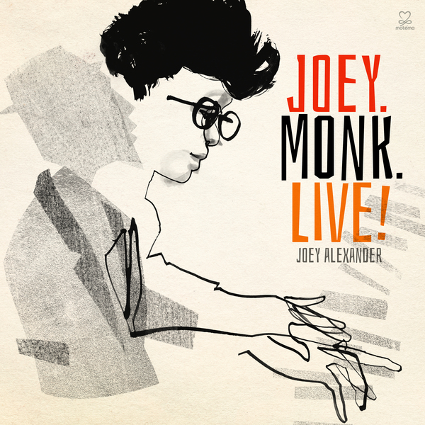 JOEY ALEXANDER - JOEY.MONK.LIVE! - CD