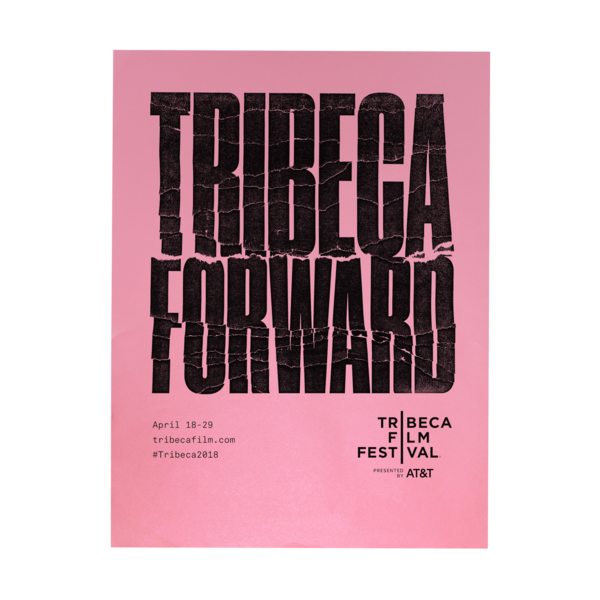 2018 Tribeca Forward Poster