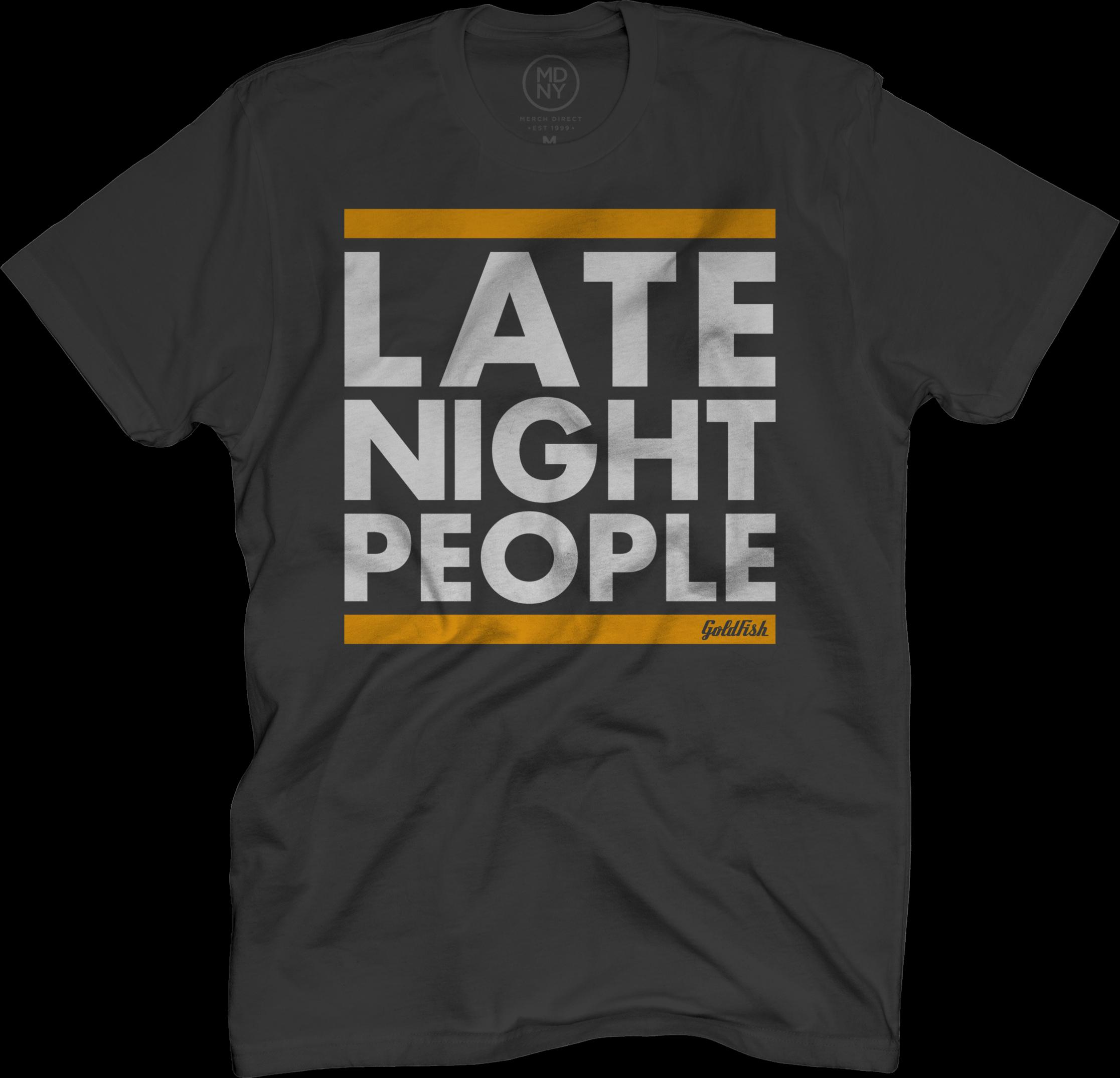 Late Night People Tee