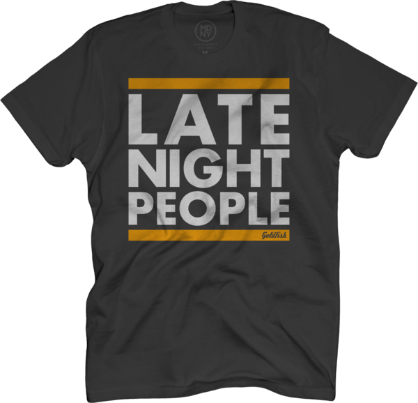 Late Night People Tee