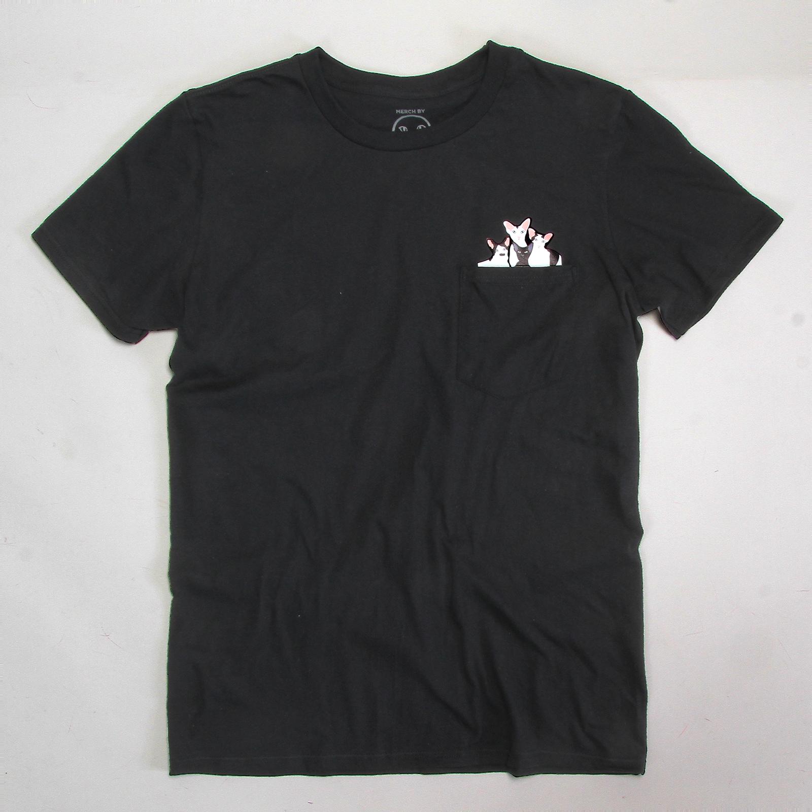 Dobbikats - Pocket T-Shirt