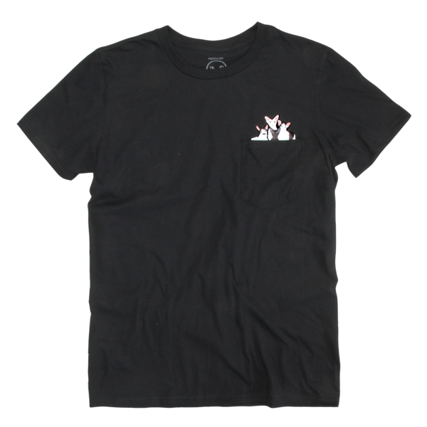Dobbikats - Pocket T-Shirt