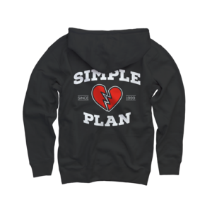 Broken Heart Since 1999 Zip Up