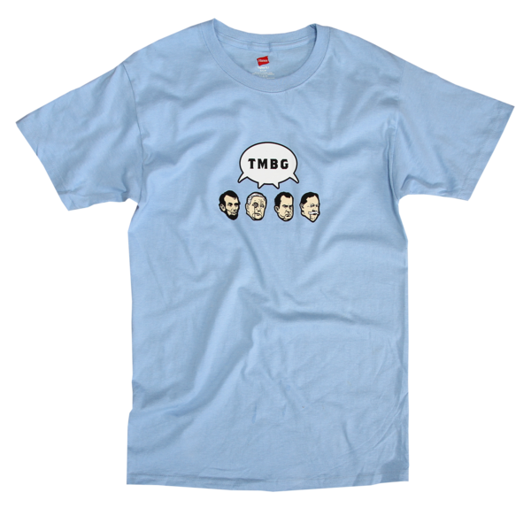 Presidents aka Carter shirt on Blue