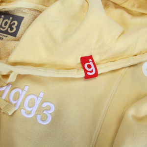 Material Control Pigment Dyed Yellow Pullover