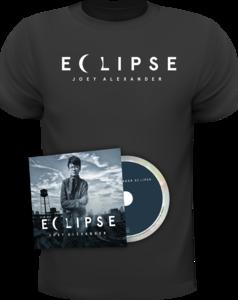 Joey Alexander - Eclipse Limited Edition CD + T-Shirt Bundle (Black)