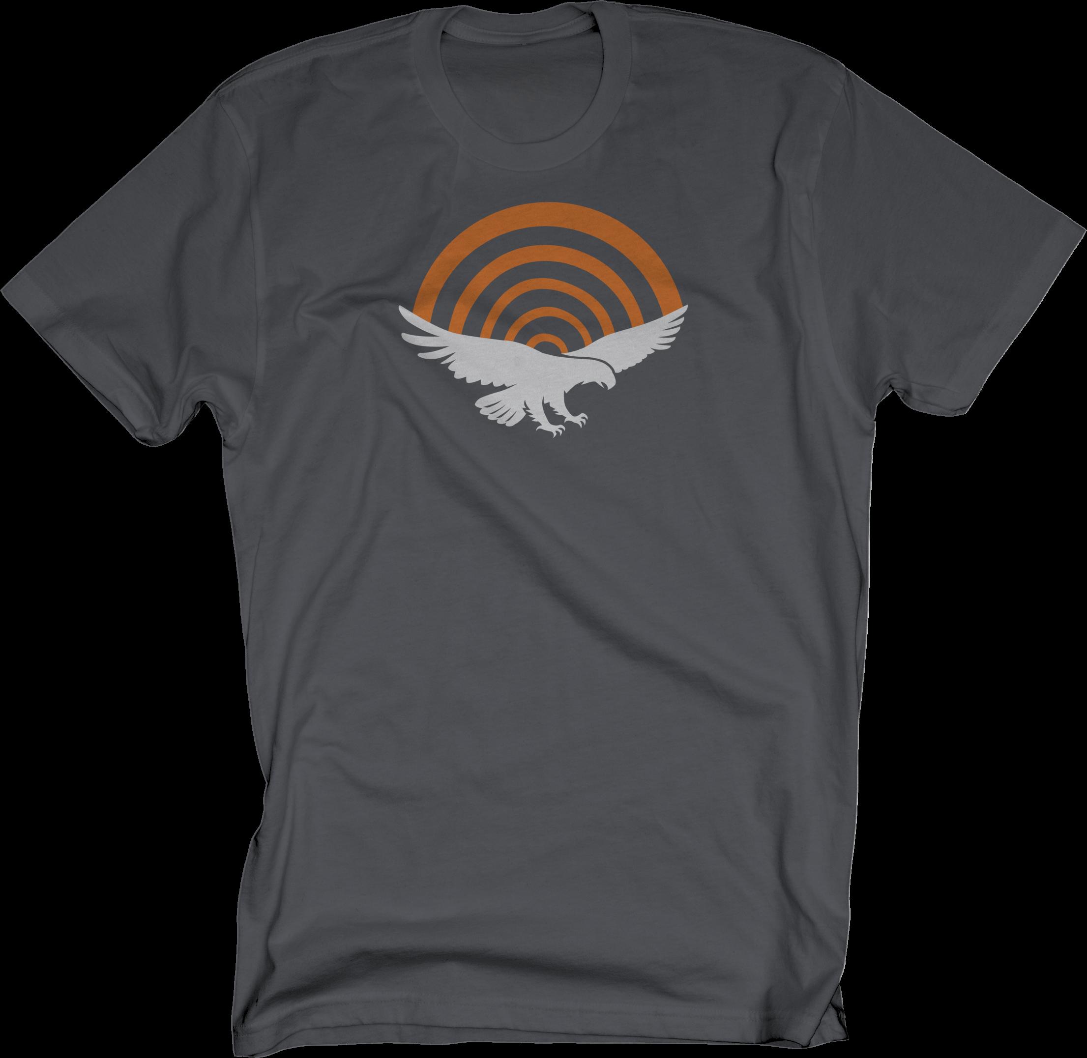 PatriotHole Logo on Charcoal T-Shirt