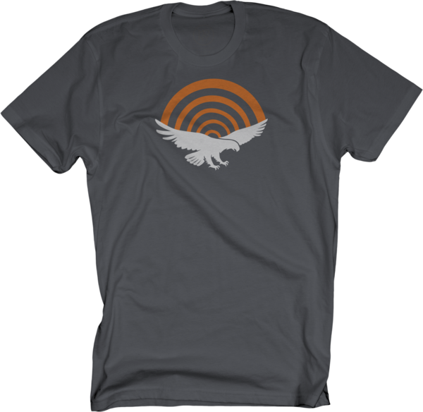 PatriotHole Logo on Charcoal T-Shirt