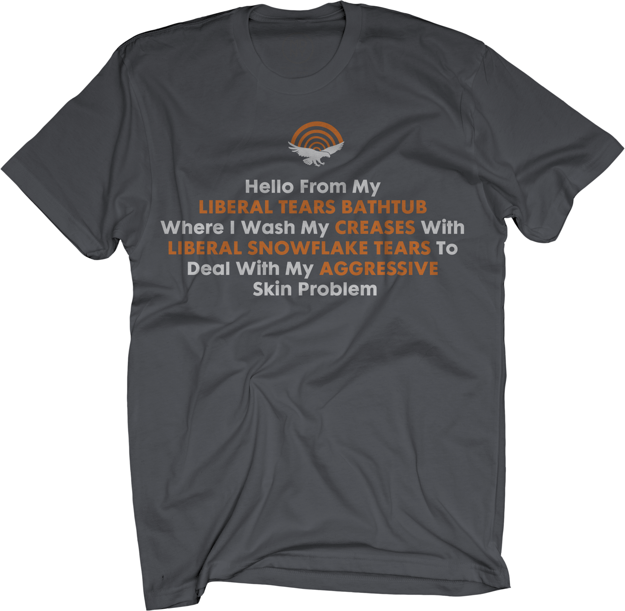 Liberal Tears on Charcoal T-Shirt