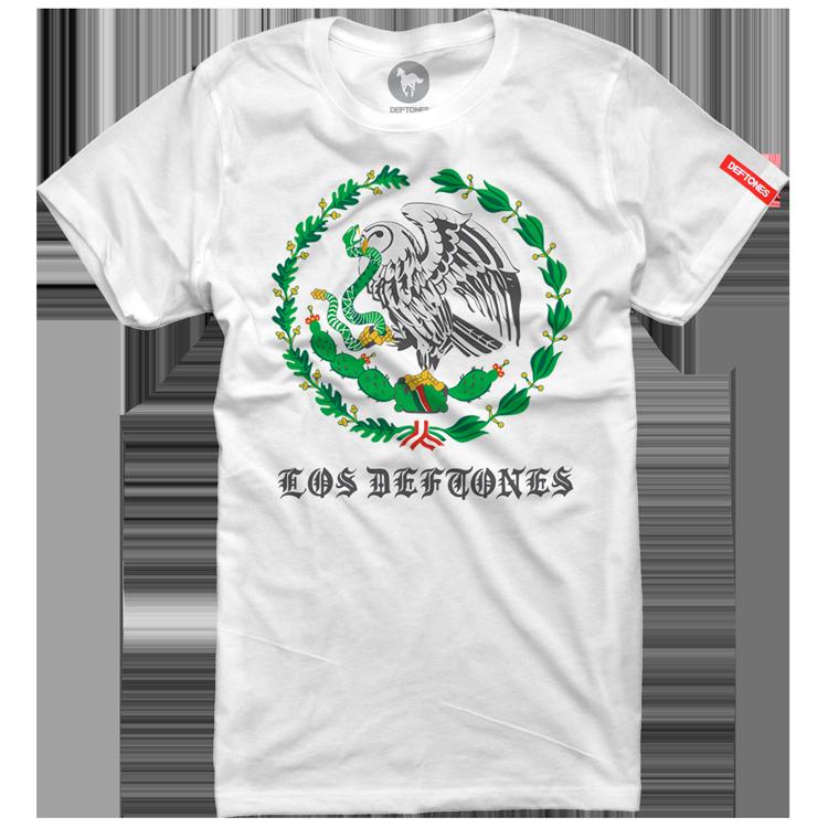 Los Deftones Womens White T-Shirt