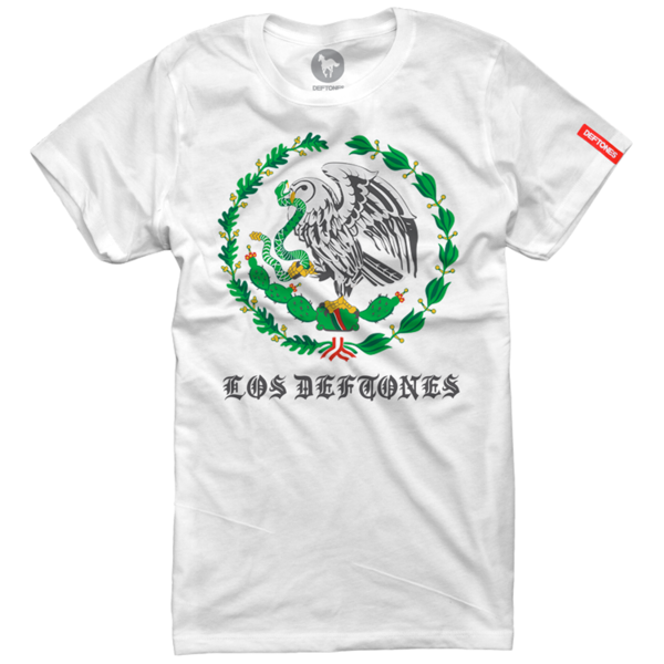 Los Deftones Womens White T-Shirt