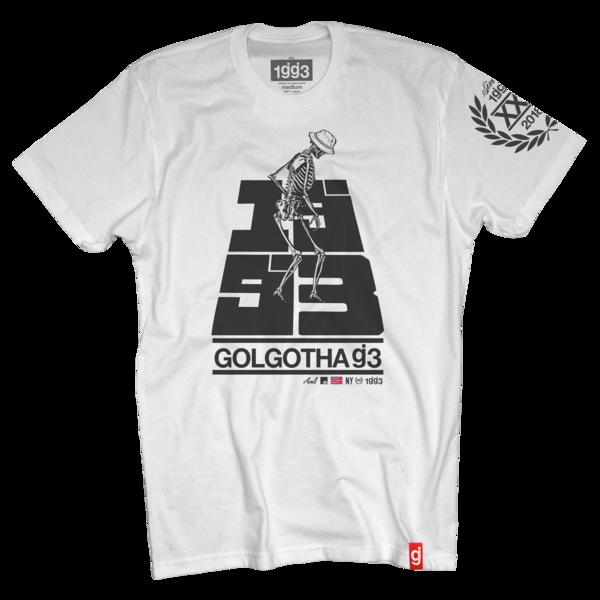 Golgotha White T-Shirt