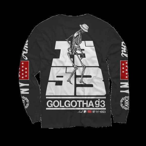 Golgotha Black Long Sleeve