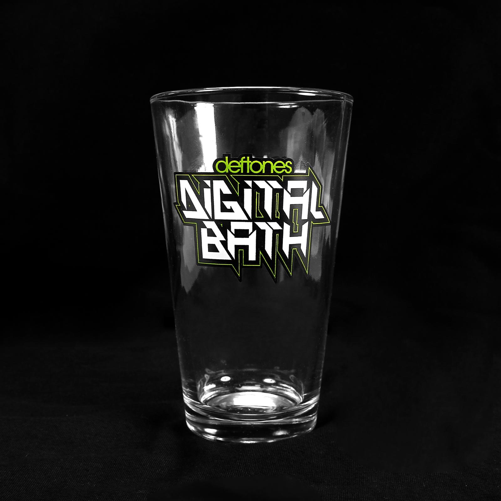 Belching Beaver Digital Bath Glass