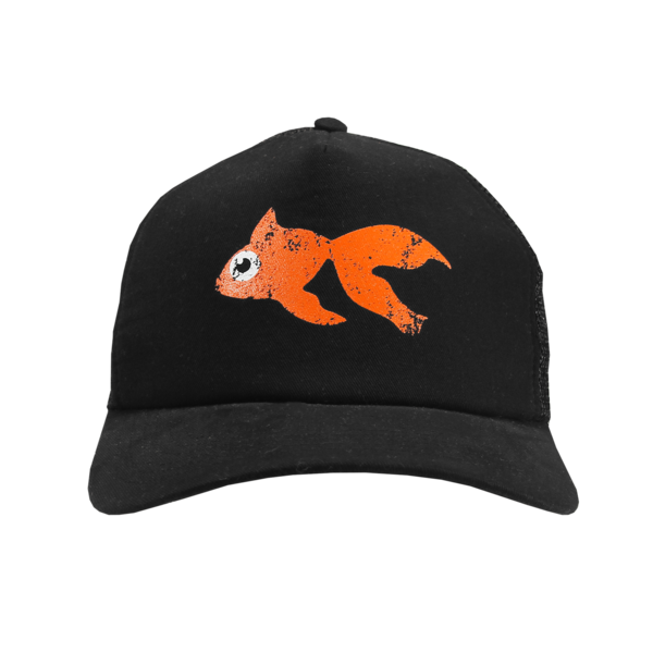 Goldfish Black Cap