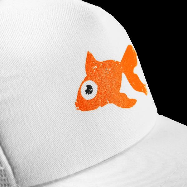 Goldfish White Cap