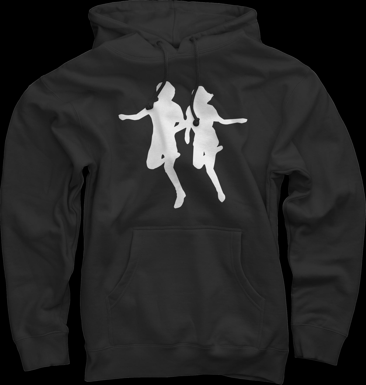 Running on Black Pullover