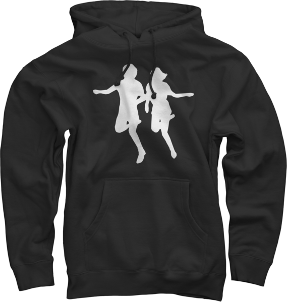 Running on Black Pullover