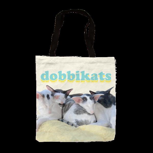 Dobbikats - Dye Sub Tote Bag