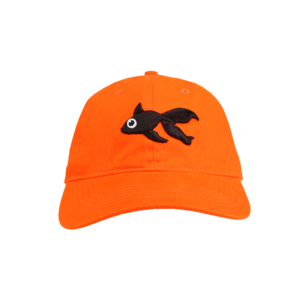 Orange Dad Hat