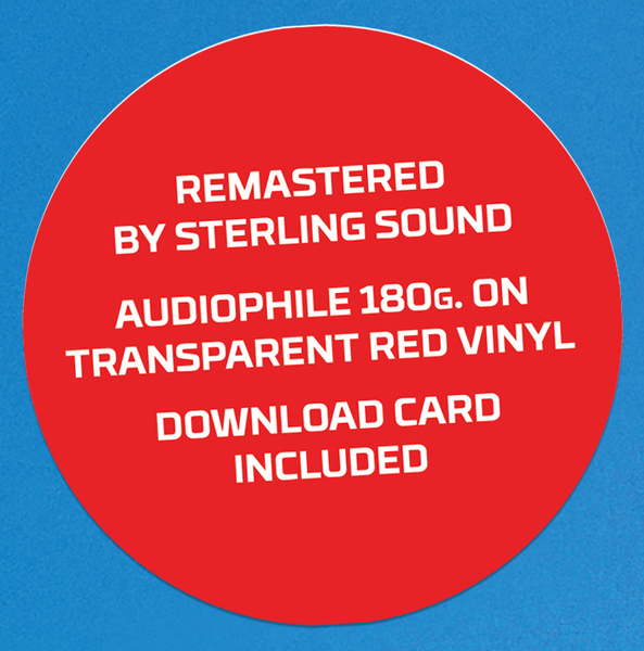 Lincoln on Red Vinyl. 180g audiophile re-mastered pressing.