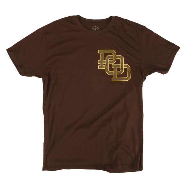Reaper on Brown T-Shirt