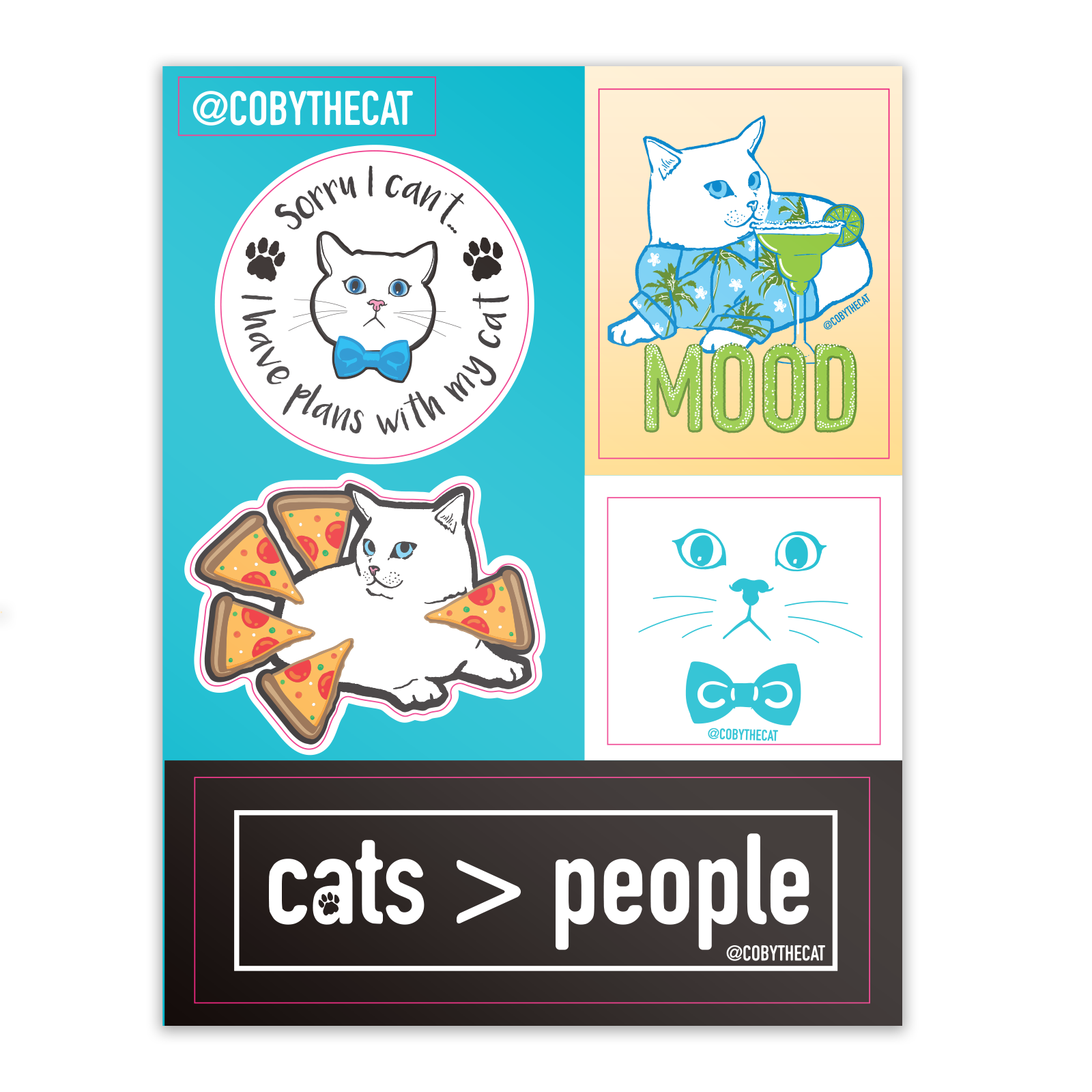 Coby - Sticker Sheet