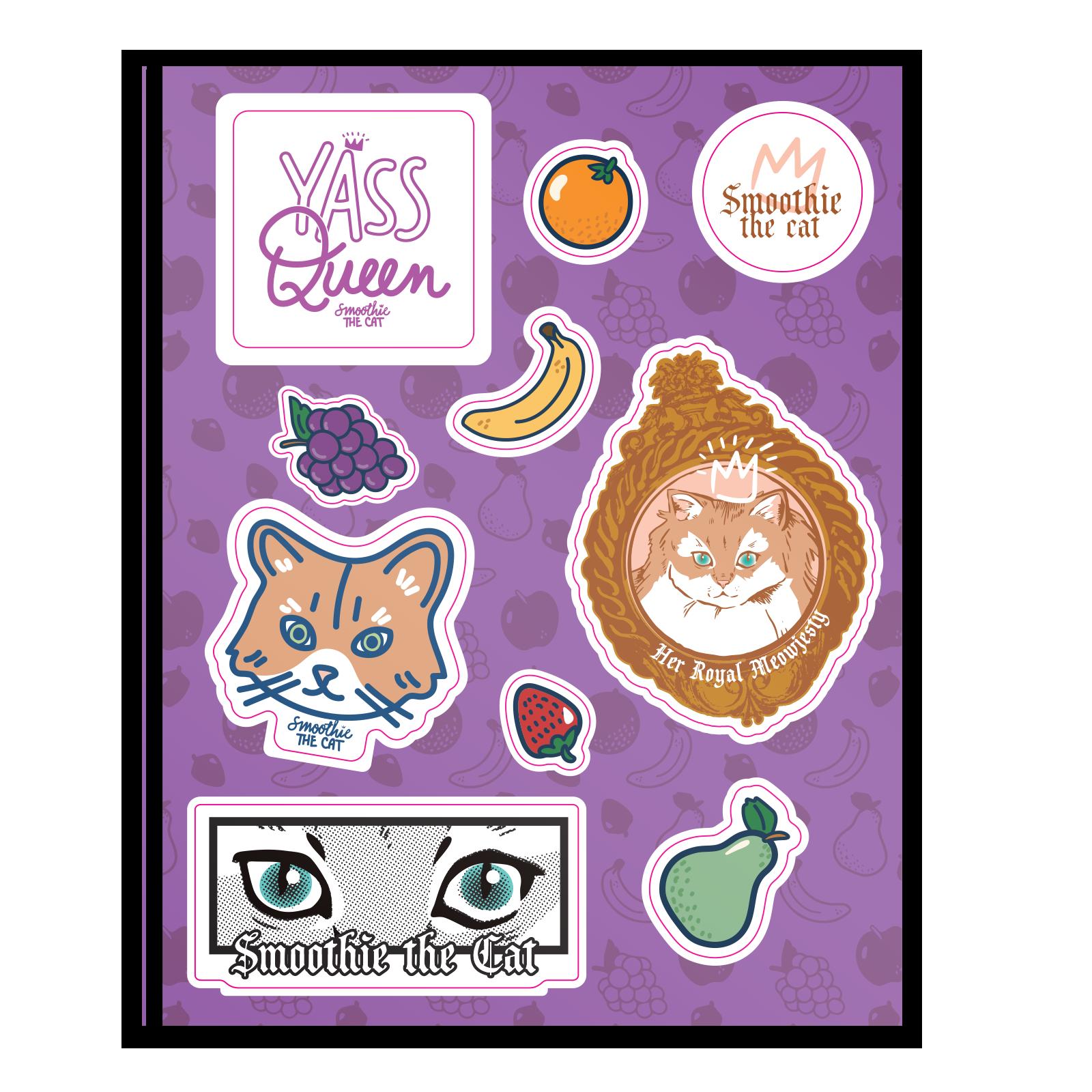 Smoothie - Sticker Sheet